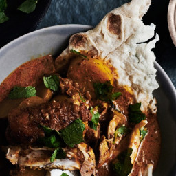 Indian-Spiced Chicken with Tomato and Cream