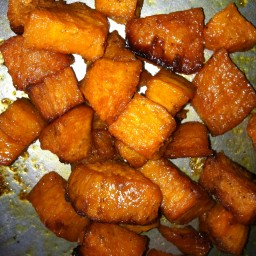Indian Spiced Roasted Yams