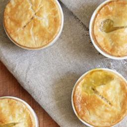 Individual Chicken Pot Pies