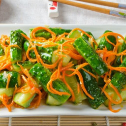 Indonesian Cucumber and Carrot Salad