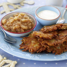Indulge with These Zero-Fat Potato Pancakes or Latkes