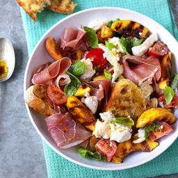 Insalata Mozzarella, Pomodoro, Prosciutto cotto pesche