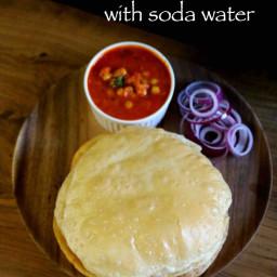 instant chole bhature recipe