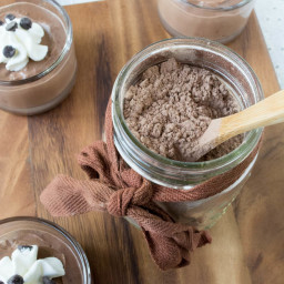 Instant Homemade Sugar-Free Chocolate Pudding Mix