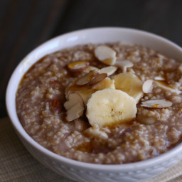 Instant Pot Banana Nut Oatmeal