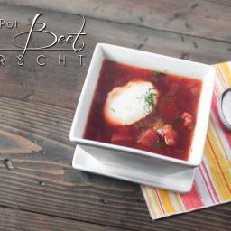 Instant Pot Beet Borscht