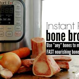 Instant Pot Bone Broth