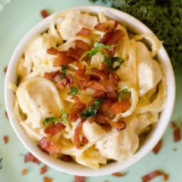 Instant Pot Chicken Bacon Ranch Pasta