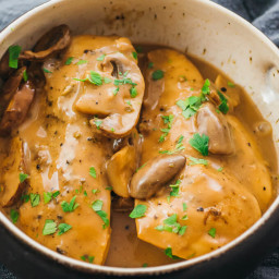 Instant Pot Chicken Marsala (Pressure Cooker)