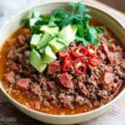 Instant Pot Chorizo Chili