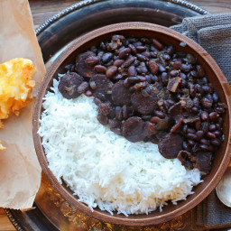 Instant Pot Feijoada (Brazilian Beans & Rice)