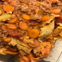 instant pot italian tortellini soup
