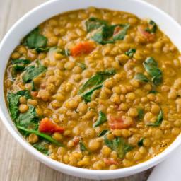 Instant Pot Lentil Dal