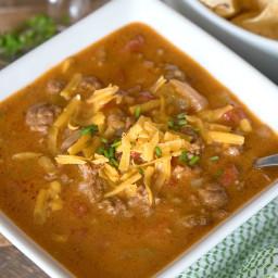 Instant Pot Nacho Soup