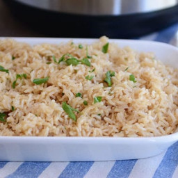 Instant Pot Perfect Brown Rice Pilaf