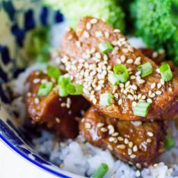 Instant Pot Pork Tenderloin Teriyaki