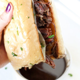 Instant Pot Pressure Cooker French Dip Sandwiches