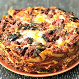 Instant Pot Pressure Cooker Spinach Lasagna