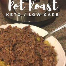 Instant Pot Recipe: Pot Roast {keto / low carb}