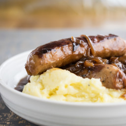 Instant Pot Sausage and Mash