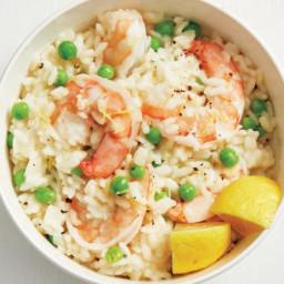 Instant Pot Shrimp Risotto