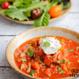 Instant Pot Smoky Mexican Chicken Soup