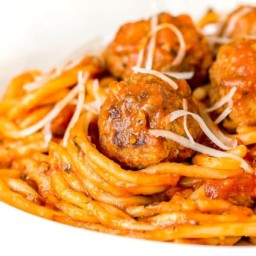 Instant Pot Spaghetti and Meatballs