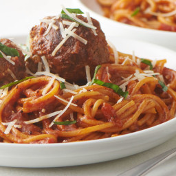 Instant Pot™ Spaghetti with Meatballs