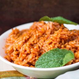Instant Pot Spanish-Style Brown Rice