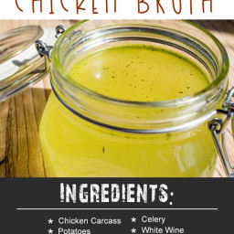 Instant Pot Super Simple Chicken Broth