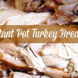 Instant Pot Turkey Breast with Gravy