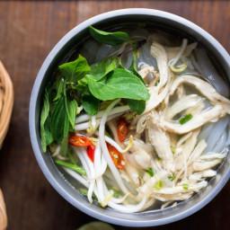 Instant-Pot Vietnamese Chicken Noodle Soup (Pho Ga)