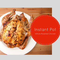 Instant Pot-Whole Rotissere Chicken