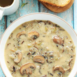 Instant Pot Wild Mushroom Soup with variations