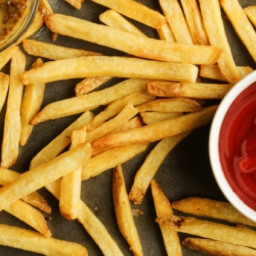 Instructions to Make Crispy French Fries Using Just 1 Tablespoon of Cooking
