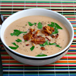 Irish Blue Cheese Tomato Soup