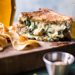 Irish Pub Spinach and Artichoke Melt