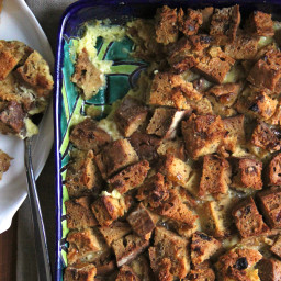Irish Soda Bread Pudding