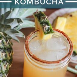 Island Fire Kombucha with Pineapple and Cayenne Pepper