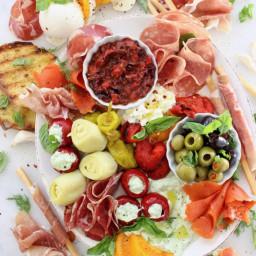 Italian Antipasto Platter