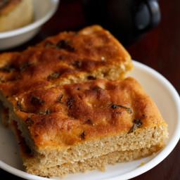 italian basil focaccia bread recipe