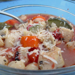 Italian Chicken and Vegetable Soup