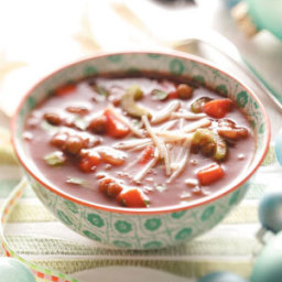 Italian Chicken Sausage Lentil Soup