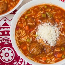 italian meatball soup | BigOven