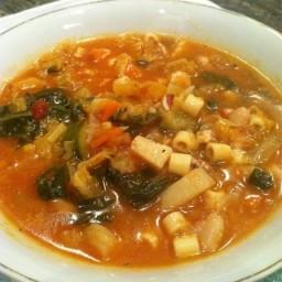 Italian Minestrone Soup Minestra