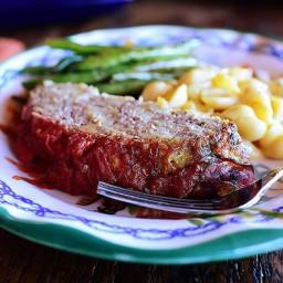 Italian Mini Meat Loaves w/Mac 'n Three Cheeses