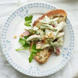 Italian Pesto Chicken Salad
