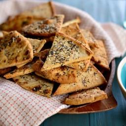 Italian Pita Chips