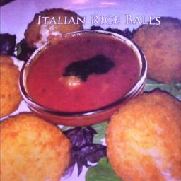 Italian rice balls