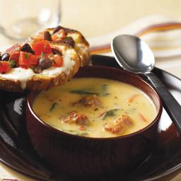 Italian Sausage and Squash Soup